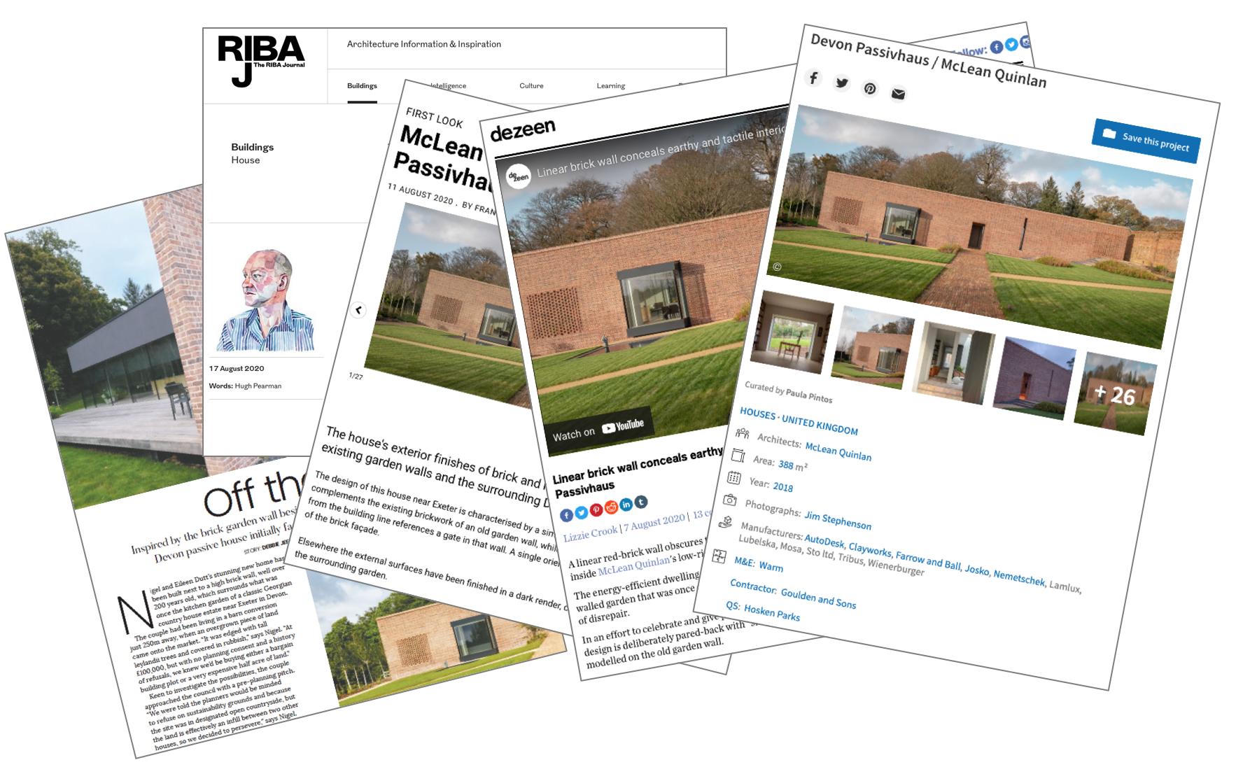Passivhaus articles